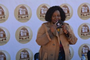 Mandela Day: Busi Shiba puts smile on Dlomodlomo learners