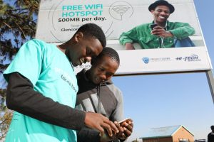 Glencore giving out free WiFi