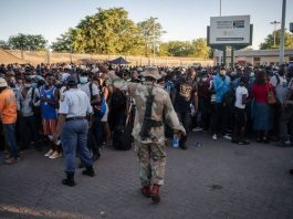 South Africa searches for quick border post answers
