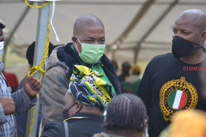 Sibusiso Sgudla speaks about his support for Refilwe Tsipane and visit to Nkandla