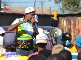 Gracious Shabangu: 'Old people must move over and let the youth lead'