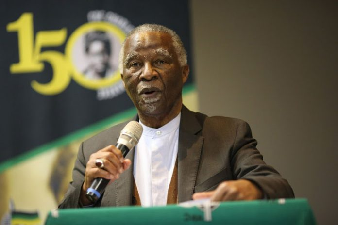 Thabo Mbeki believes ANC and state positions should be separate