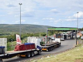 Delays frustrate truckers at Lebombo border gate