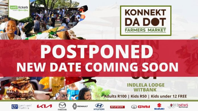 Witbank Farmers' Market postponed due to bad weather